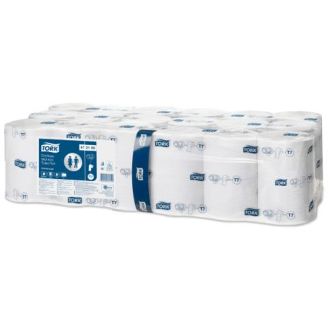 Tork Hulsloos Mid-size Toiletpapier 2-laags Wit T7 Advanced