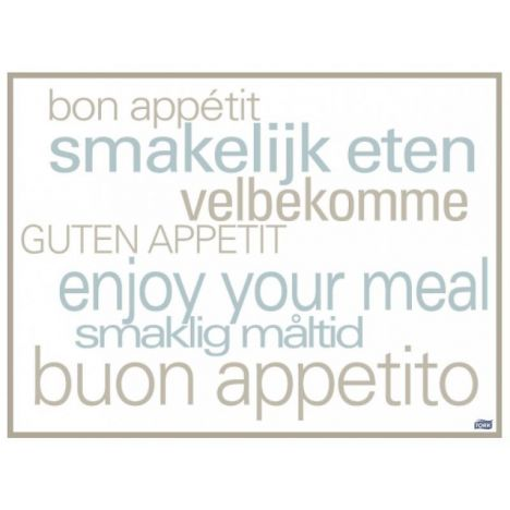 Tork placemat 31x42cm Text 5x500